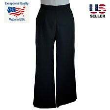 NEW Black Dress Pant Womens Career Work Trouser USA NWT Pants Small