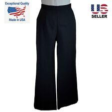 NEW Black Dress Pant Womens Career Work Trouser USA NWT Pants Small