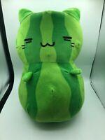 Kleptocats Sandi Watermelon Cat Plush Stuffed Toy Animal Doll Green Hyperbeard