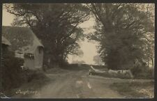 More details for sussex. pagham.  farm 1.5 miles from the beach, apparently. 1925 real photo pc