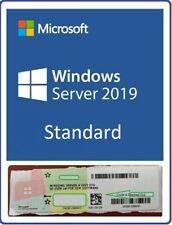 New Windows Server 2019 Standard Key COA