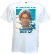 Olivia Newton-John - Come On Over T-shirt white poster all sizes S...5XL