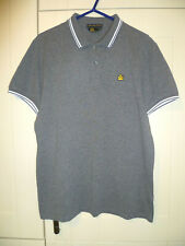 ADMIRAL (NEO MOD) - ORIGINAL GREY WITH WHITE TRIMS POLO SHIRT (M)