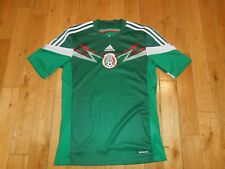 Adidas 2014 World Cup Mexico National Team Futbol Soccer Home Jersey Kit Mens S