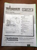 WAGNER Optimus Project Power Painter ~ Operator's Manual