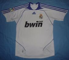 Real Madrid / 2007-2008 Home - ADIDAS - JUNIOR football Shirt / Jersey. 176, 16y