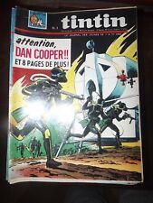 le journal de TINTIN decembre  de 1966 - dan cooper