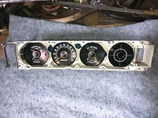 1964 Plymouth Dash Instrument Cluster Assembly B-Body Plymouth 64 MOPAR