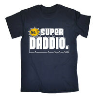 Fathers Day SUPER DADDIO T-SHIRT funny novelty dad daddy gift t shirts tee