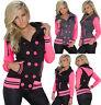 SEXY NEW Women  Jacket Winter Coat Parka Ladies Black Hooded size 8 10 12 14 S M