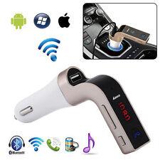 G7 Bluetooth Car Handsfree Fm Transmitter Radio Mp3 Player Usb Charger & Aux Usa