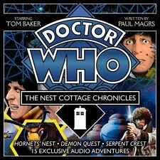 Doctor Who: the Nest Cottage Chronicles: Fifteen 4th Doctor Audio Dramas CD