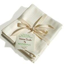 Nandina Bamboo Rayon & Organic Cotton Kitchen Towels Pack of 3