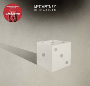 Paul McCartney III Imagined McCartney 3 Target Exclusive Limited Cover CD