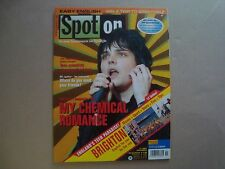 My Chemical Romance rare SPOTON import cover magazine Gerard Way Mikey Ray Toro