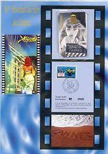 ENCART PHILATELIQUE ET TELECARTE 50e FESTIVAL DU FILM DE CANNES 1996