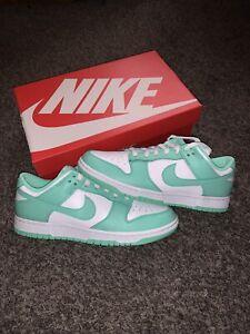 Nike Dunk Low Green Glow Size Men's 8.5 / Women's 10 Deadstock