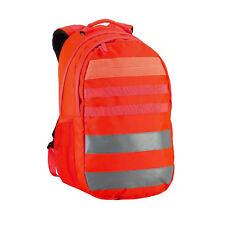 Caribee Signal V 30L Hi Viz Back Pack Day Pack Red Orange