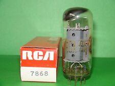 RCA 7868 Vacuum Tube Results = 5000