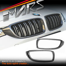 Carbon Fibre Front Bar Grill Grille Cover for BMW F32 F33 F36 F80 M3 F82 F83 M4