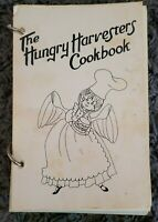 VINTAGE RINGBOUND COOKBOOK c. 1960's COOK BOOK LOCAL RECIPES HUNGRY HARVESTERS