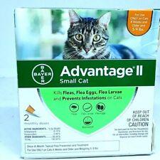 Bayer Advantage Ii Flea Prevention for Small Cats, 5-9 lbs 2 Doses