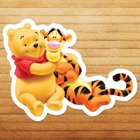 Disney Winnie the Pooh Bear and Tigger Die Cut Car Window Vinyl Decal Sticker