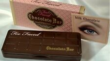 BOXED New Too Faced Chocolate Bar Eyeshadow Collection Palette free P&P