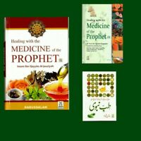 Healing with the Medicine of The Prophet PBUH (Colour) طب النبي By Darussalam