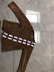 chewbacca Fleece Pyjamas Size 7/8
