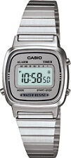 Vintage Casio LA670 WA 7 Silver Ladies Watch LA670WA-7D COD Paypal