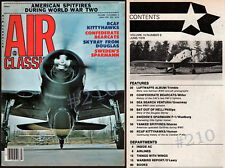Air Classics Magazine June 1978 - Sweden SPARMAN P-1 includes detailed DRAWINGS