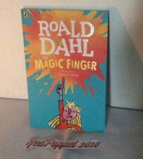 Roald Dahl - The Magic Finger - Illustrated by Quentin Blake -Paperback Book New