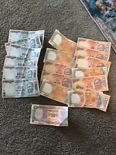 Indian Rupee Banknotes 10-50-100 Foreign Banknotes