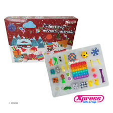 More details for 25pcs fidget toy advent calendar in stock christmas stocking fillers name bag