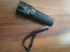 Bright LED torch replaceable batteries