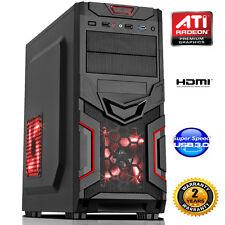 AMD FM1 QUAD CORE 8gb DESKTOP PC COMPUTER HDMI USB 3.0 - barebone dp667