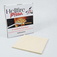 "9"" / 23cm Cordierite Pizza Stone Baking Tile Ceramic  Oven Bbq Wood Burner Stove"
