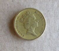 AUSTRALIAN 1990.. ABORIGINAL ELDER...  $2.00 DOLLAR COIN.....LOWER MINTAGE