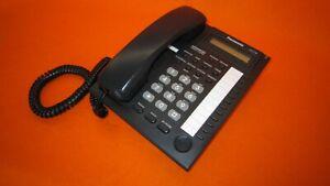 Panasonic KX-T7730 Analogue System Phone (Black) PBX [F0474E] No Stand