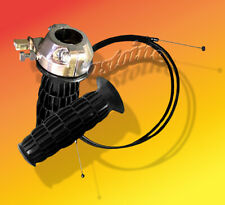 """~ Minibike Throttle Twist Grips 7/8"""" And Cable 60"""""""