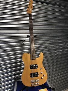 Shine Telecaster Bass With Musicman-style Humbuckers - REDUCED!