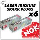 6x NGK SPARK PLUGS Part Number ILZKR7A Stock No. 1961 Laser Iridium New Genuine