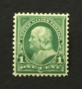mystamps  US 279, 1 cent Franklin, 1898, MNH XF