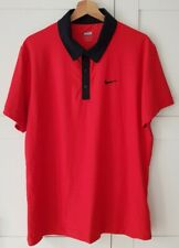 Nike Tennis Roger Federer Us Open Day Session 2009 Polo L top Zustand