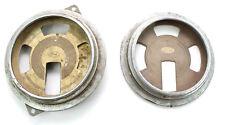 Antique 1937 1938 Ford Instrument Gauge Cluster V8 Round Metal Speedometer