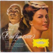 MOZART: Cosi Fan Tutte, Jochum DGG Red Stereo 136 278 LP NM- Super