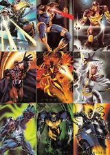 MARVEL FLAIR 1994 FLEER COMPLETE POWERBLAST INSERT CHASE CARD SET 1 TO 18 MA