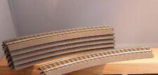 TRIX HO 62130 12x Rails Courbés NEUF & SANS EMBALLAGE D'origine