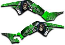 HONDA TRX250R GRAPHICS DECAL KIT GRIM REAPER REVENGE TRX 250 R STICKER GREEN